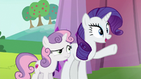 "Rarity ""isn't it wonderful?"" S6E14"