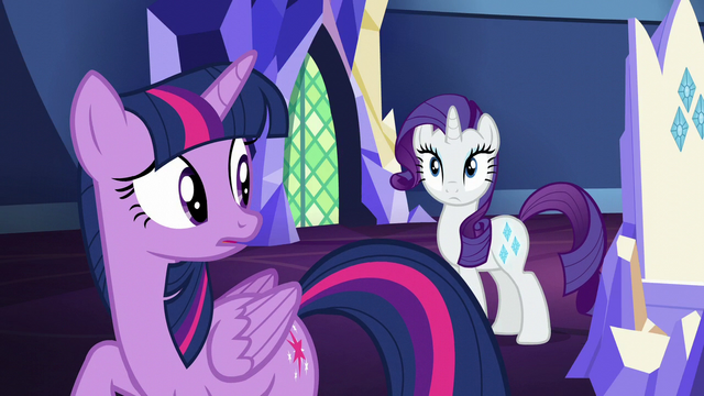 File:Twilight looks at Rarity's cutie mark S5E16.png