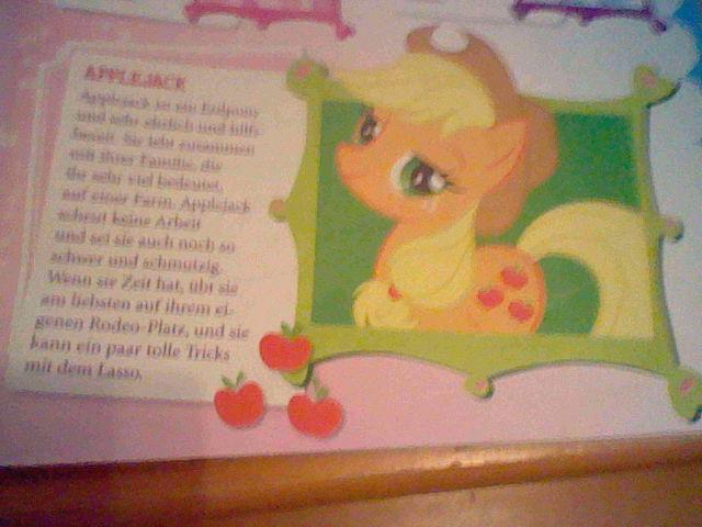 File:Applejack in a German magazine.jpg