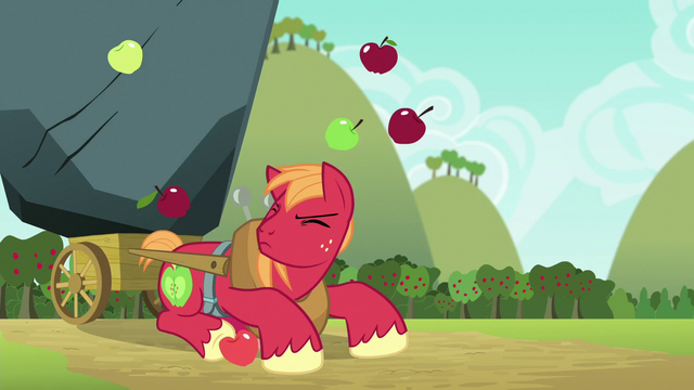 File:Apples falling on Big McIntosh's head S6E15.png