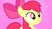 Apple Bloom about to sing S4E17