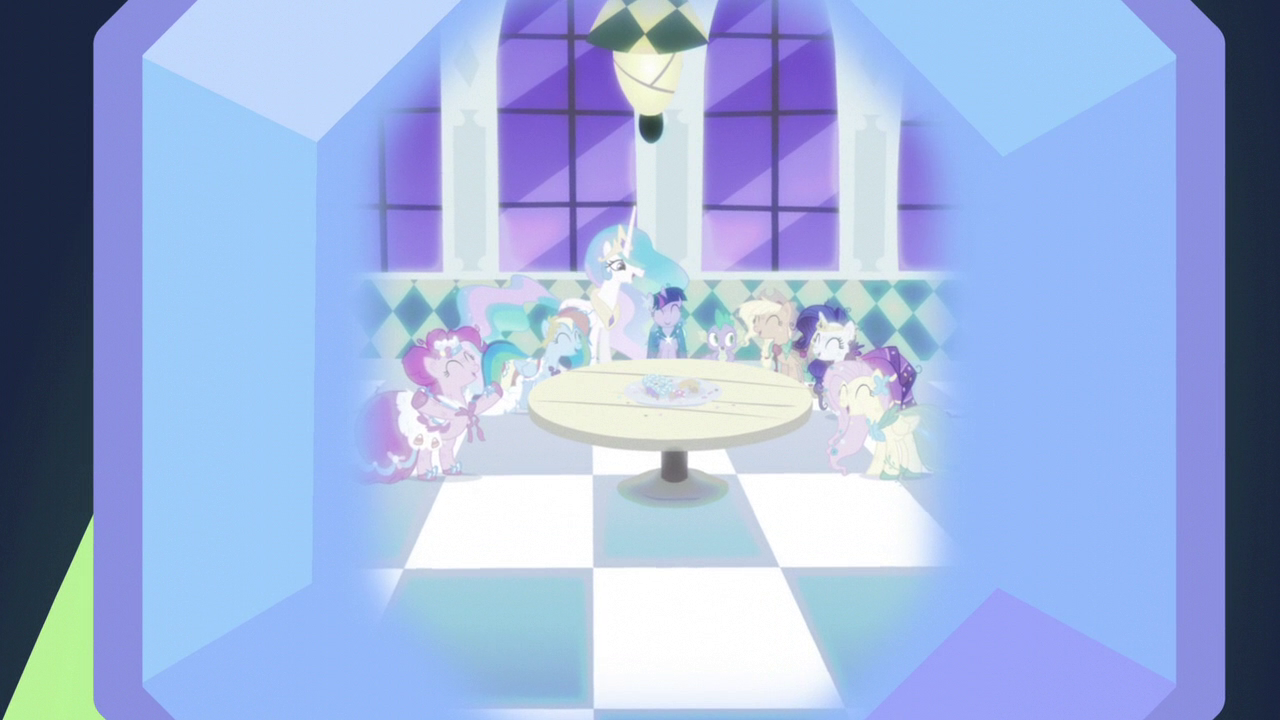 My little pony friendship is magic coloring pages best night ever - Memory Jewel Of The Best Night Ever S5e3