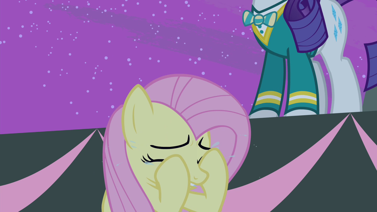 Image - Fluttershy crying again S4E14.png | My Little Pony Friendship ...