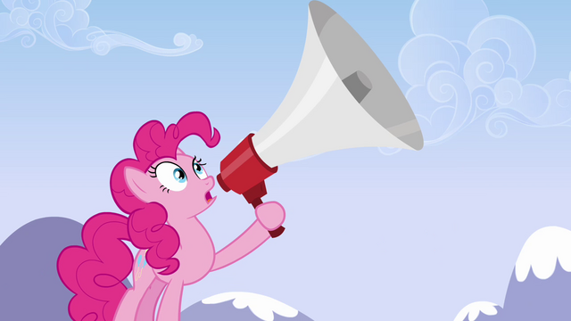 File:Pinkie Pie's big megaphone S3E7.png