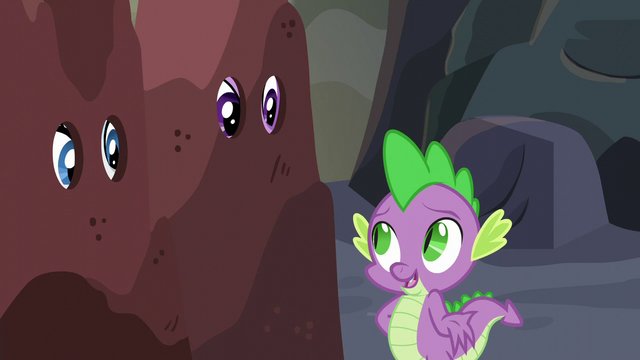 """File:Spike """"it was nothing"""" S6E5.png"""