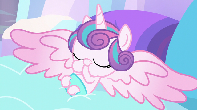 File:Flurry Heart sucking on a hoof S6E1.png