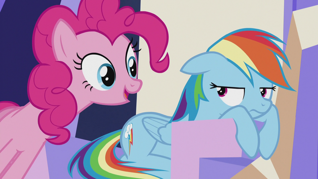 "File:Pinkie ""come on, Dashie!"" S5E8.png"