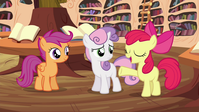 "File:Apple Bloom ""liftin' brooms'll be a cinch!"" S4E15.png"