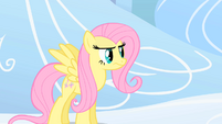 Fluttershy being assertive S01E16