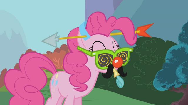"""File:Pinkie Pie """"sure, no problem"""" S1E05.png"""
