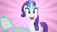 Rarity super excited S2E9