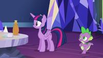Spike calls Twilight jealous again S5E22