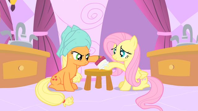 File:Applejack and Fluttershy S01E26.png