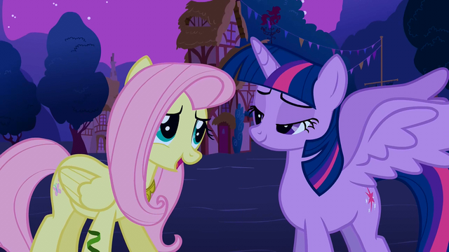 File:Fluttershy 'Wow, you look just like a princess!' S3E13.png