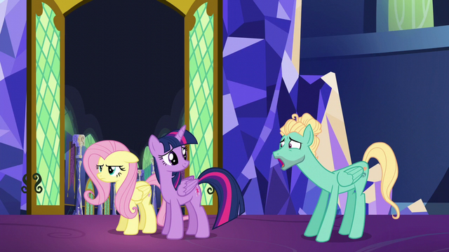 File:Zephyr Breeze whining to Fluttershy S6E11.png