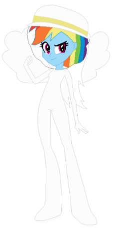 File:FANMADE Rainbow Dash Human Bee Hive.png