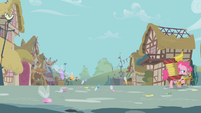 Pinkie leads the parasprites out of town S1E10
