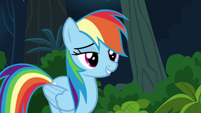 "File:Rainbow ""you're pretty awesome yourself"" S6E13.png"