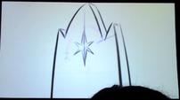 S5 animatic 25 Twilight's cutie mark on her throne