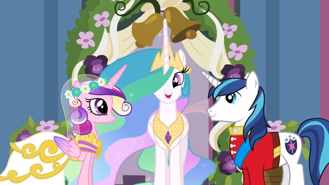 File:A Canterlot Wedding promotional with normal Shining.jpg