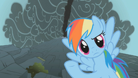 Rainbow Dash its a mountain S1E7