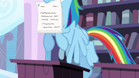 Rainbow flies up with completed test S4E21