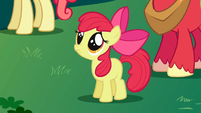 "Apple Bloom ""Aren't you going to stay for brunch?"" S1E01"