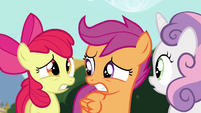 "Apple Bloom ""run like the wind!"" S4E15"