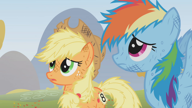 File:Applejack is sowy S01E13.png
