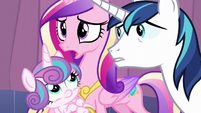 "Cadance ""Including the Crystal Empire!"" S6E2"