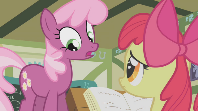 File:Cheerilee It's blank S1E12.png