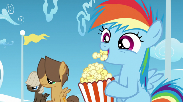 File:Rainbow, Dumb-Bell, and Hoops watch Twilight and Starlight S5E26.png