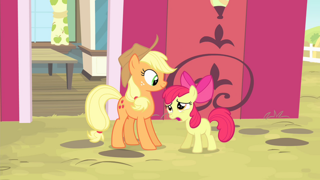 "File:Apple Bloom ""I don't need you watchin' over me!"" S4E17.png"