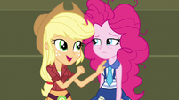 "Applejack ""your party additions were really swell"" EG3"