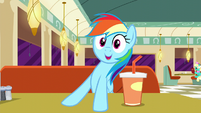 "Rainbow Dash ""they finished the race"" S6E9"