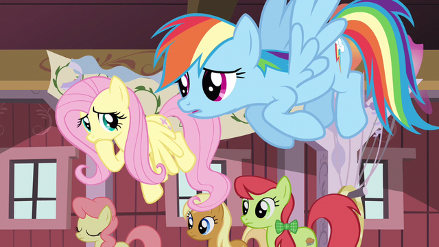 File:Fluttershy Rainbow worried S02E14.png