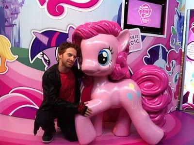 File:Seth green with Pinkie Pie by reddragon5.jpg