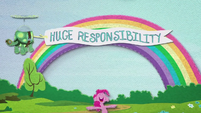 """Tank pulling """"Huge Responsibility"""" banner BFHHS3"""