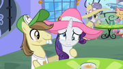 Rarity with lazy eyes S2E9