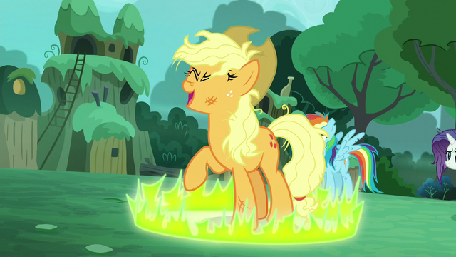 "File:""Applejack"" about to transform into her true self S5E26.png"