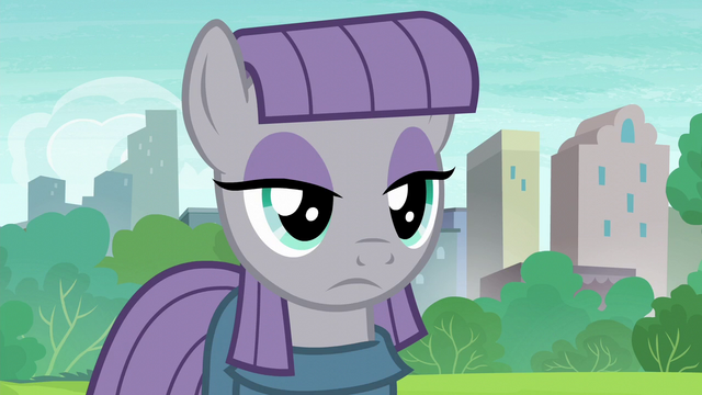 File:Maud Pie flat stare of accusation S6E3.png