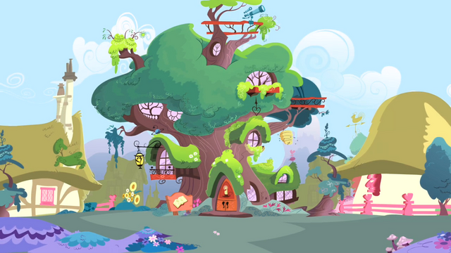 File:View of Twilight's Library S04E07.png