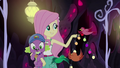 Birds help Fluttershy decorate the cave EG4.png