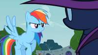 Rainbow Dash you hiding S2E8