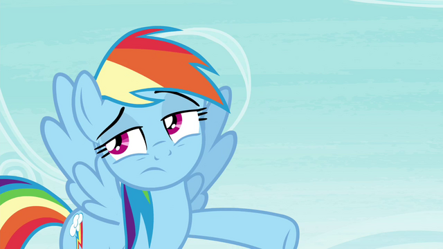 File:Rainbow pointing her hoof S4E21.png
