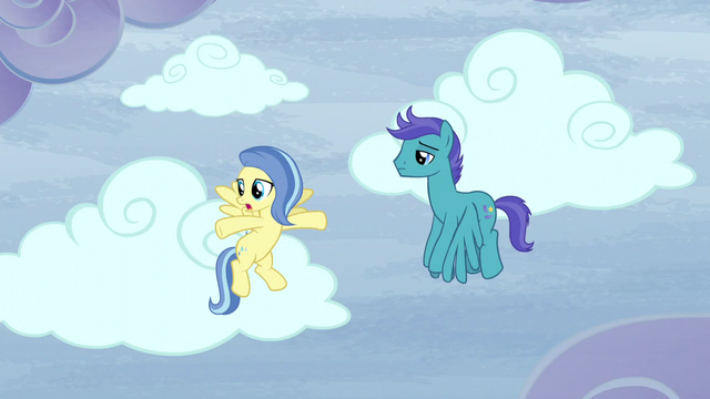 "File:Sunshower ""But there's clear skies everywhere"" S5E5.png"