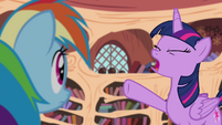"Twilight Sparkle ""I've never heard answers so wrong!"" S4E21"
