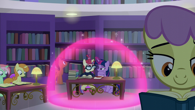 File:Twilight and Moon Dancer inside a magic bubble S5E12.png