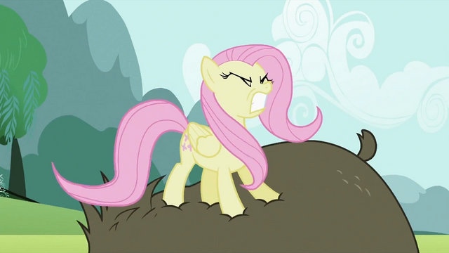 File:Fluttershy stomping on bear S2E03.png