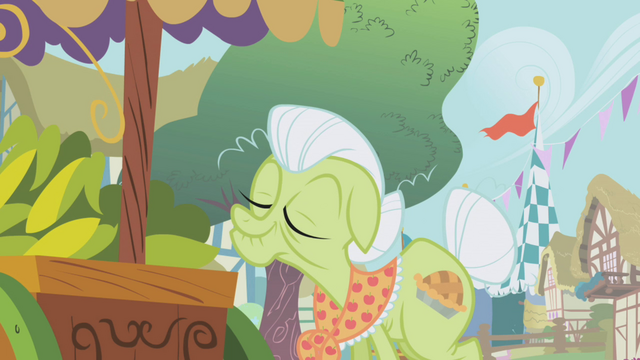 File:Granny Smith sniffing the produce S1E05.png